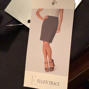 ELLEN TRACY pencl not zipper skirt